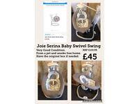 Joie Serina Baby Swivel Swing