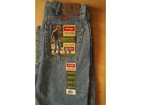 Wrangler Blue Jeans.