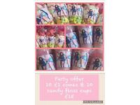 Sweet cone offers & candy floss