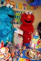 Hire a mascot today with MASCOT PARTIES! Mickey, Elmo and more