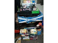 Job Lot of Car Boot items. Book's DVD's Puzzels Knick Knacks and electricals.