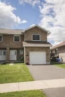 3 BEDROOM SEMI WITH ATTACHED GARAGE!