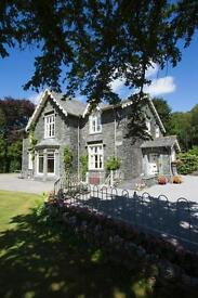 EXPERIENCED COUPLE required for Lake District Country House ,Borrowdale,Keswick, Cumbria.