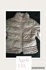 Girls Kate Mack jacket 6y