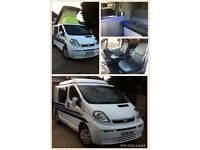 Vauxhall vivaro 4 berth motorhome pop top camper day van not t5 t4 bongo