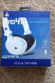 Ps4 stereo headset