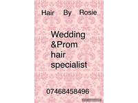 Prom hair specialist