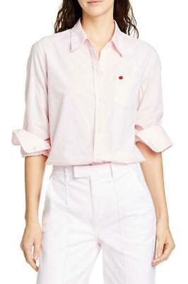 New With Tag - ALEX MILL Pink Standard Shore Pink Cotton Shirt Size M