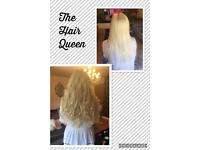 Hair Extensions from £200 all methods from a qualified hairdresser