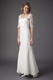 Wanted Monsoon Carlotta wedding dress size 14/16