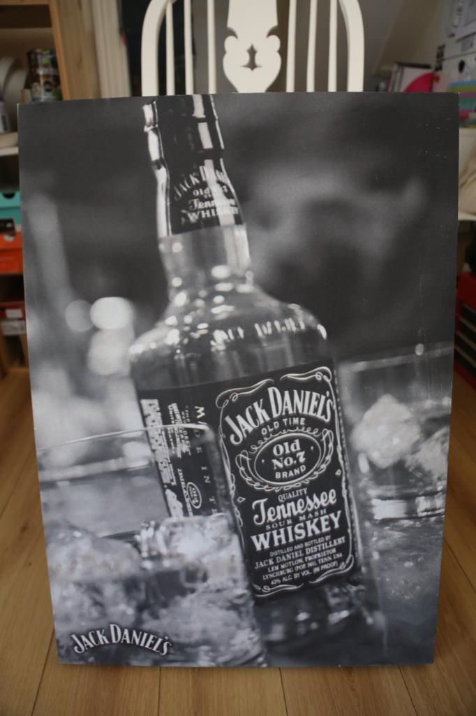 Jack Daniels canvas wall art | in Kings Heath, West Midlands | Gumtree