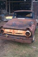 1956 f100 ford stepside patina oops 1956