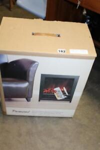 New Black Aura Petite Electric Fireplace (Pick Up) PU5