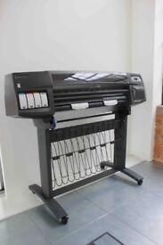 HP Designjet 1050C Large format Printer For Sale- Excellent condition
