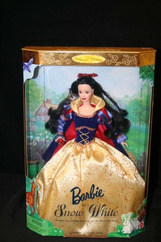 1998 Barbie As Snow White Children