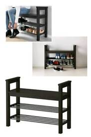 Bench and shoes storage