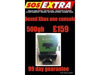 Xbox one boxed console