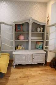 Solid Oak LouisXV Armoire Dresser from France