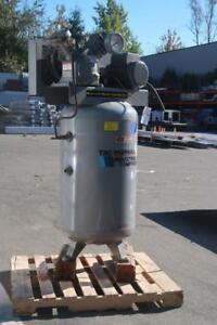 INGERSOLL-RAND Industrial Air Compressor Cast Iron