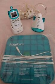 Angelcare baby monitor + movement sensor pad (AC401) - Good condition