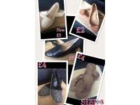Shoes size 5 summer flats