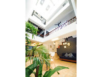 Modern Courtyard Townhouse for rent in Central Bangkok
