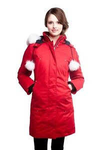 Moose knuckle stirling parka - woman's (xs)