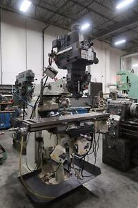 Modern 3V Milling Machine and Tooling
