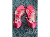 Pink Ladies Sandals For Sale
