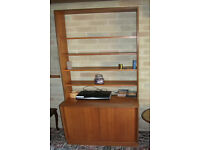 Bookcase and Cupboard