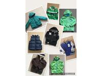 8 Winter Warm Coats! Age 2-3 Years. Mostly NEXT.