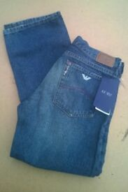 Ladies armani jeans, brand new with tags, 27inch waist