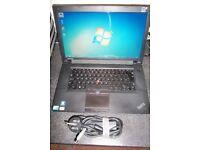 Lenovo Laptop , 2.4ghz core i3, Windows 7, 500gb Hdd, Wifi, Dvdr-rw, 4Gb Memory