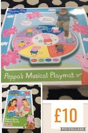 Peppa pig musical playmat & game