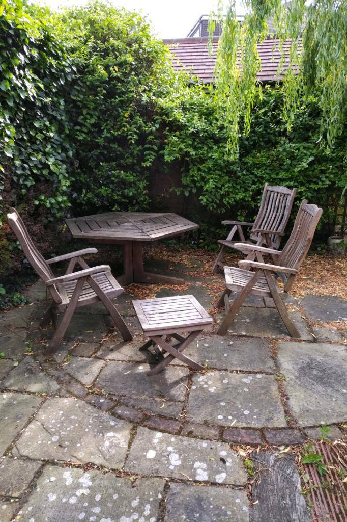 Marvelous Garden Table And Chairs Set Julian Christian Designer In Enfield London Gumtree Home Interior And Landscaping Ferensignezvosmurscom