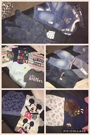 Baby boy clothes.