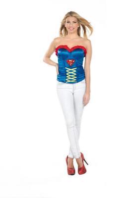 Adult Sexy Woman's Superman SUPER GIRL CORSET Costume ()