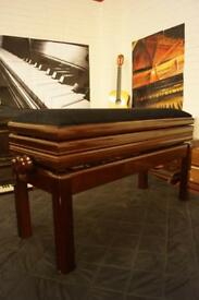 New duet adjustable and open top piano bench.