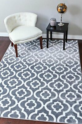 RUGS AREA RUGS 8x10 RUG CARPETS LARGE FLOOR BIG GRAY LIVING ROOM COOL GREY RUGS