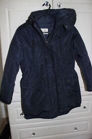 Zara Girls Coat aged 7-8