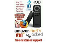 Fire stick, android box, fully loaded, reload, openbox