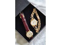 4 Vintage Ladies Dress Watches