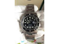 Rolex submariner 40mm Black dial luxury automatic divers watch brand new in 2018 Swiss wave box