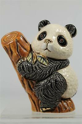 DeRosa Rinconada Family Baby Figurine  'Baby Panda On Tree' - NEW  #F366 NIB