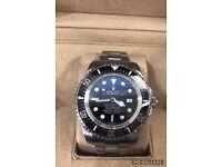 Rolex deepsea dweller deep sea diver 44mm luxury automatic diver Watch Jc James Cameron New in box