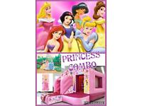 Princess Bouncy Castle Combo