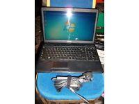 Toshiba Satellite Laptop, 2.2ghz Dual core, Windows 7, 250gb Hdd, Wifi, Dvd-rw, 2Gb Memory