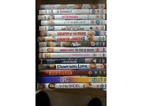 Comedy film DVD selection. 15 titles