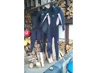 3xladies winter wetsuits
