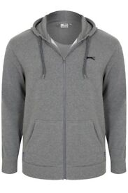 *BRAND NEW! 2 piece Men's Slazenger Full Zipped Grey Hoodie & Joggers. Labels still attached.